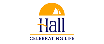 Halls Funeral Homes logo and link